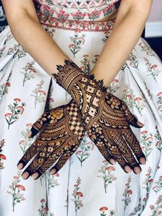 We have got a list of top Mehndi designs for Hand. You can choose Mehndi Design for Hand from the list for your special occasion.