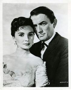 """Gregory Peck, Jean Simmons in """"The Big Country"""" (1958). Director: William Wyler."""