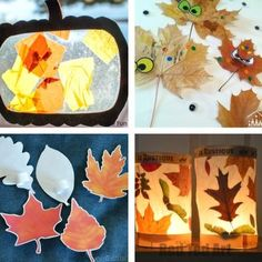autumn fall crafts for toddlers