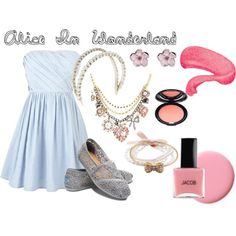 Alice in Wonderland, created by niamh-costello on Polyvore