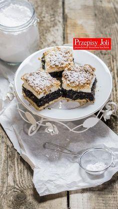 NAJLEPSZY MAKOWY PLEŚNIAK NA DUŻĄ BLACHĘ Polish Desserts, Polish Recipes, Kolaci I Torte, Love Cake, Cupcake Cookies, Sweet Recipes, Easy Recipes, Food To Make, Biscotti