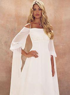 Robe de mariée manches longues