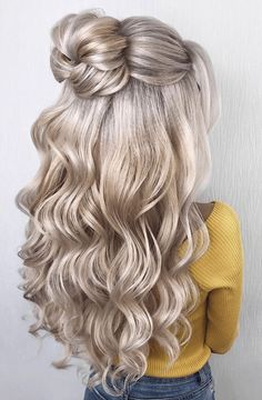 Adorable Bun Hairstyles You Need To Try ASAP - Frisuren hairlove.site - Adorable Bun Hairstyles You Need To Try ASAP Women's Fashion Adorable Bun Hairstyles You Need To Try ASAP Deutsch Yüksel Quality Professional Services Diese Fotoalbe. Braided Bun Hairstyles, Bun Hairstyles For Long Hair, Pretty Hairstyles, Hairstyles Haircuts, Hairstyle Ideas, Stylish Hairstyles, Buns For Long Hair, Half Up Half Down Hairstyles, Hairstyles For Women