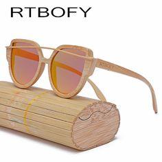 2345d16c2ec9 RTBOFY Wood Sunglasses Women 2017 Brand Designer Fashionable Sun Glasses  Cat eye Sunglasses Handmade Polarized UV400 Eyewear //Price: $US $17.11 &  FREE ...