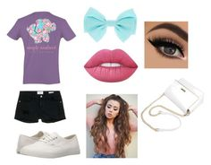 """""""Preppy"""" by arfinch05 ❤ liked on Polyvore featuring Frame Denim, Vans and Lime Crime"""