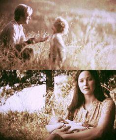 Katniss and Peeta and their beautiful children ~Mockingjay Part 2, epilogue.