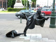 Escultura De Vaartkapoen – Bruxelas, Bélgica
