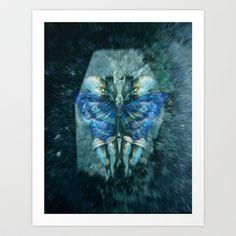 angel13 Art Print by Richard J Wise - $17.68