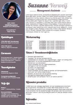 Fris, zakelijk en opvallend cv! zeer geschikt voor secretaresses | OfficeStars, hét platform voor managementondersteuning in Nederland www.office-stars.nl