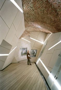 Decostructivist Museum/Exhibit Design: Danish Jewish Museum in Copenhagen, Denmark by Studio Daniel Libeskind