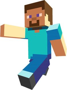This Steve, the default character for Minecraft. I really am close with this guy, ha ha. Minecraft is a sandbox game by Mojang. Steve Minecraft, Minecraft Png, Minecraft Clipart, Espada Minecraft, Craft Minecraft, Video Minecraft, Minecraft Creator, Minecraft Costumes, Minecraft Room