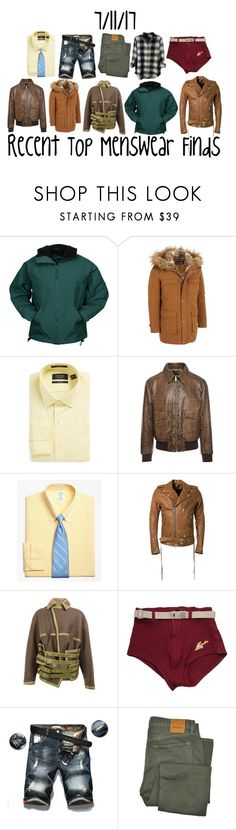 """""""Recent Top Menswear Finds"""" by maggie-johnston ❤ liked on Polyvore featuring Nordstrom, Alexander McQueen, Brooks Brothers, AMIRI, Y/Project, Tom Ford, Rails, men's fashion and menswear"""