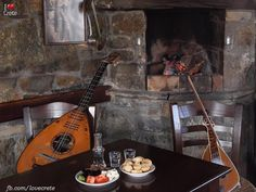 Bouzouki music, Raki & Cretan food - why can't I be in Crete right now???