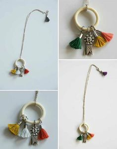 New Trend... will be really big this fall ~ Tassel necklace