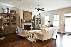 Stunning living room - part of this beautiful home tour