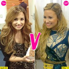 Demi Lovato Blonde Hair