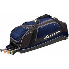 E500C Wheeled Catchers Bag, Navy, Black