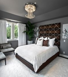 Love it!  This headboard is awesome!