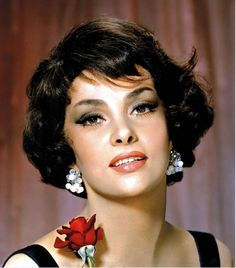 Gina Lollobrigida on Pinterest | Golden Age, Hollywood and Marlene ...