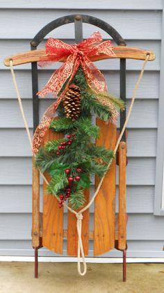 i like this look, have also seen with small wreaths