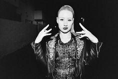 Iggy Azaela Rapper Black And White