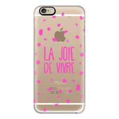 iPhone 6 Plus/6/5/5s/5c Case - Girly neon pink French typography La... ($40) ❤ liked on Polyvore featuring accessories, tech accessories, phone cases, phone, iphone case, polka dot iphone case, iphone 6 case, iphone cases and apple iphone cases