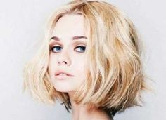 Charming Blonde Short Hairstyle Pics