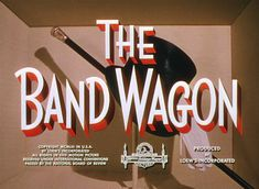The Band Wagon (1953) Blu-ray movie title