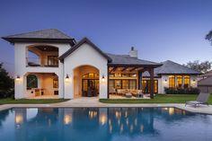 Архитектура дома Европейского простота бассейн