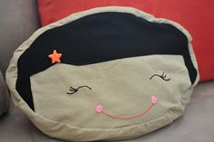 lia's crafty journey: face pillow pattern and tutorial