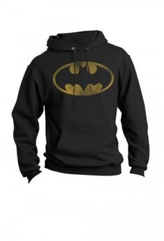 Batman Vintage Logo - Hoodie SM This would go great w/ my batman shirt!