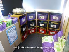Owl Themed Classroom Library