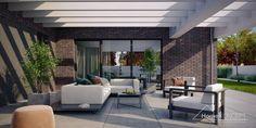 Projekt domu HomeKONCEPT-32 | HomeKONCEPT New House Plans, New Homes, Patio, How To Plan, Outdoor Decor, Design, Home Decor, Houses, Home