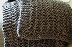 Ravelry: Lacy Chunky Throw pattern by Wenlan Chia