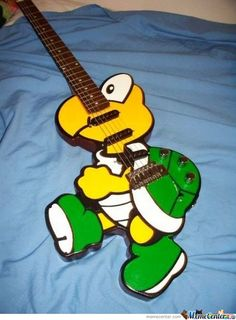cool and silly guitar