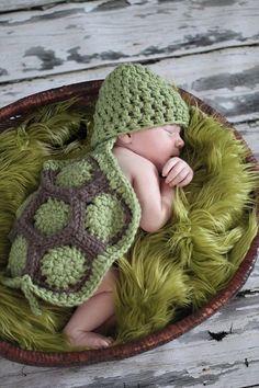 Newborn Baby Photography Props Infant Animal Design Turtle
