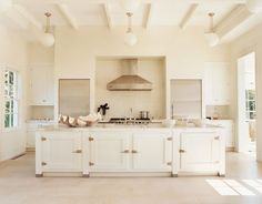 very traditional w separate fridge & freezer & look @ the large work space
