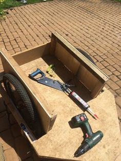 Picture of How to build a bike trailer
