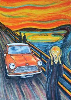 Mini Cooper S, Classic Mini, Classic Cars, Scream Parody, Minis, Futuristic Motorcycle, Mini Countryman, Mini Things, Cool Art