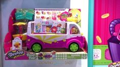 Shopkins Scoops Ice Cream Truck in it's package