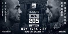UFC 205 : Alvarez vs McGregor | ufc 205 live stream, news, start time, tickets, TV channel    More: http://alvarezvsmcgregorlive.co