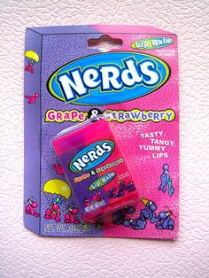 Nerds Grape & Strawberry Lip Balm