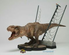 Jurassic Park Tyrannosaurus Model