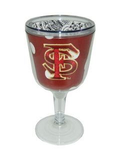 Florida State Maroon Goblet--is it bad that I really want this?  lol