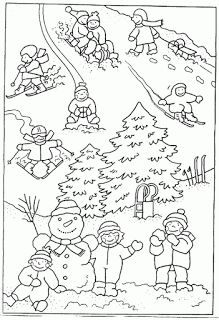 Helen Mamas Hat Crafts, Diy And Crafts, Winter Theme, Winter Hats, Christmas Time Is Here, Korean Art, Winter Sports, Coloring Pages, Christmas Crafts