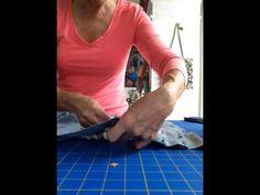 Part 2 Blue Jean Apron tutorial