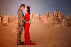 Dusk at the Pinnacles Desert with Shelley and Jason. We waited for the perfect time to capture this amazing photo Pinnacles Desert, Dusk, Cool Photos, Wedding Photos, Amazing, Marriage Pictures, Wedding Photography, Wedding Pictures