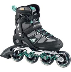 Roll over paved streets fast and in control with the Rollerblade® Women's Macroblade 80 Inline Skates. Its aluminum frame is tough and sturdy while the 5 Star Fit upper maximizes comfort and support. The Macroblade 80 is outfitted with 80mm wheels and SG5 Bearings. From a morning workout to a casual stroll, customize a fit for you with its heel strap, laces, and cuff buckle.