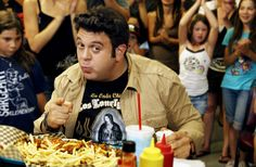 #394. Attempt a man vs food challenge of my choice. Because anything he could do I COULD DO BETTER. jk. o.O