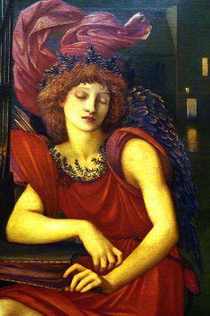 The Love Song (detail) - Edward Burne-Jones